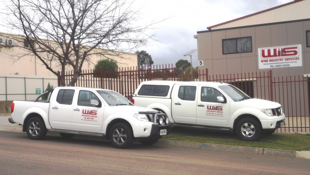Wine Industry Services service vehicles