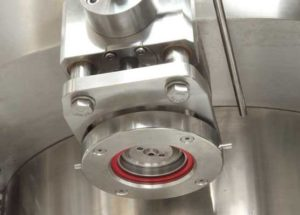 Isobaric filling valve can